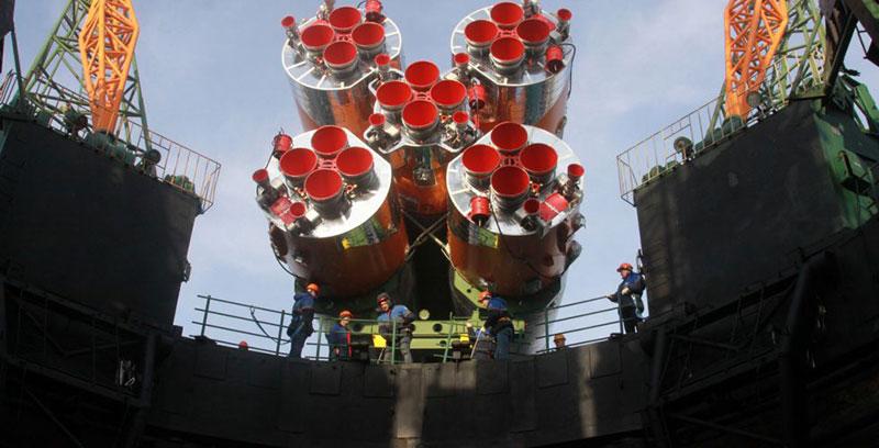 El lado caliente del cohete