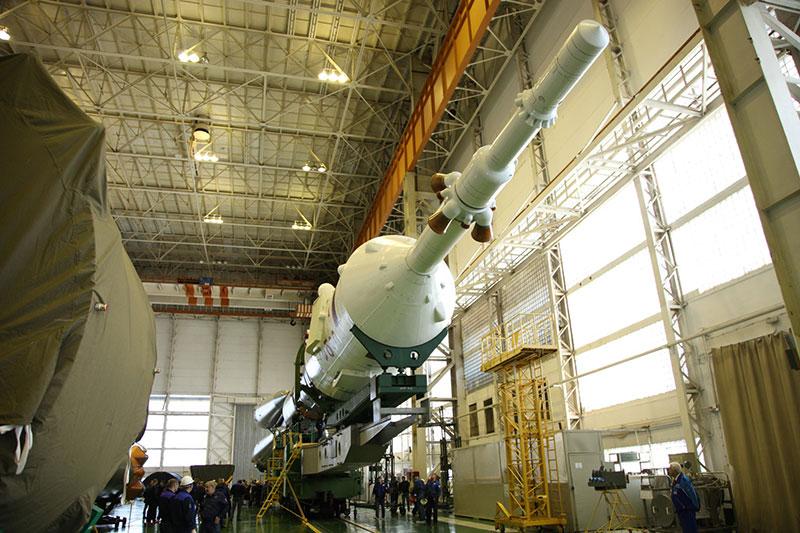 Listo para ir a la plataforma de lanzamiento – Roscosmos