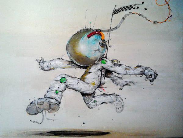 Spaceman por Serge Kortenbroek