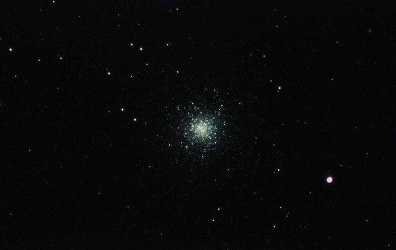 El Cúmulo de Hércules visto por Stellina