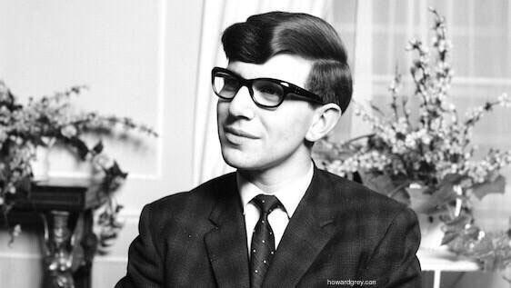 Stephen Hawking en 1963