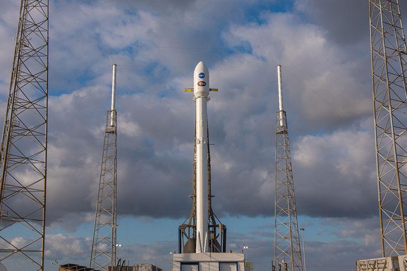 TESS y su Falcon 9