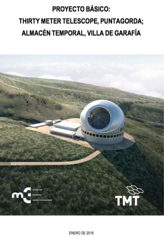 Proyecto básico del TMT en Canarias