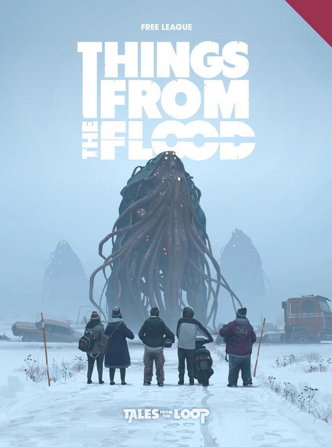 Things from the flood por Simon Stålenhag y Fria Ligan