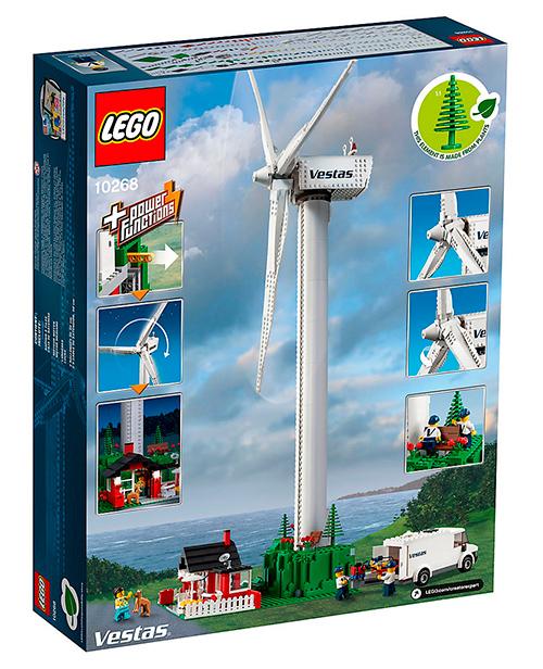 Turbina eólica de Lego / Vestas