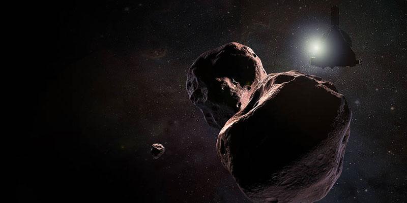 La New Horizons y Ultima Thule