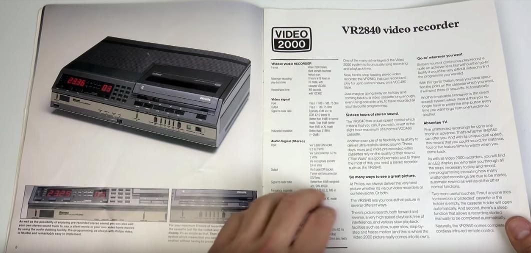 Video 2000 / Techmoan
