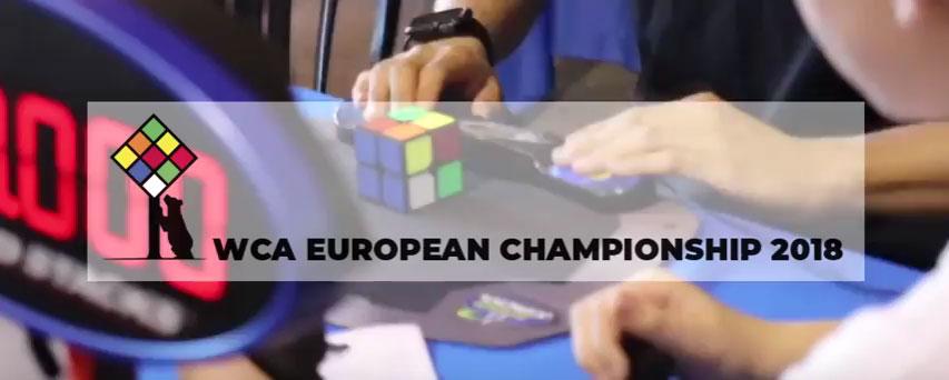 WCA European Championship 2018 de Rubik / Madrid