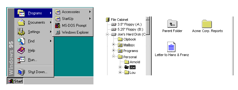 Win 95 / UI Design