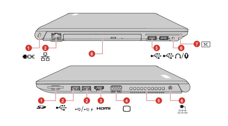 Portátil Toshiba Tecra Z50