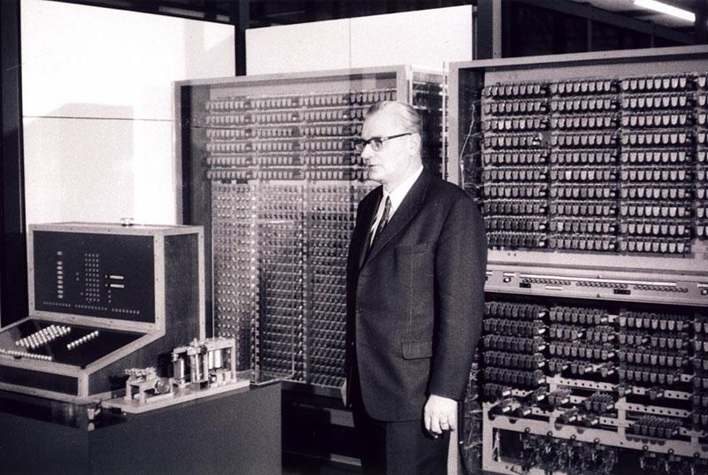 Konrad Zuse y su Z3