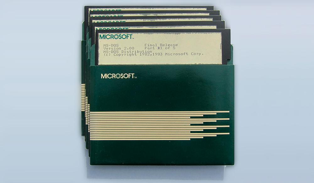 El código fuente de MS-DOS 2.0