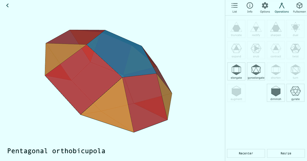 Polyhedra Viewer