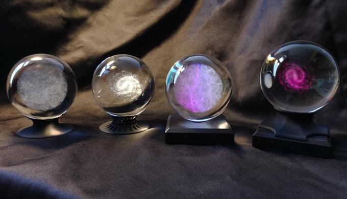 Las esferas del Universo, la Vía Láctea y las constelaciones / CinkS Labs