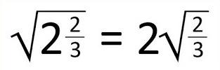 sqrt(2*2/3)