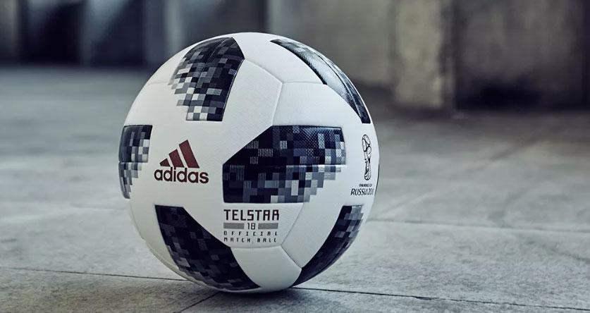 c9a2c10ce0f29 El modelo que Adidas presentó como balón de fútbol de la Copa del Mundo  Rusia 2018 de fútbol se llama Telstar 18. Se trata de un diseño renovado  del clásico ...