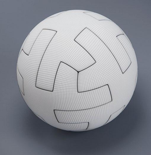 4c29c1323b55a La geometría del balón – El Teslar del Mundial de México 1970 fue el  primero en utilizar la forma geométrica del icosaedro truncado para el  esférico (con ...
