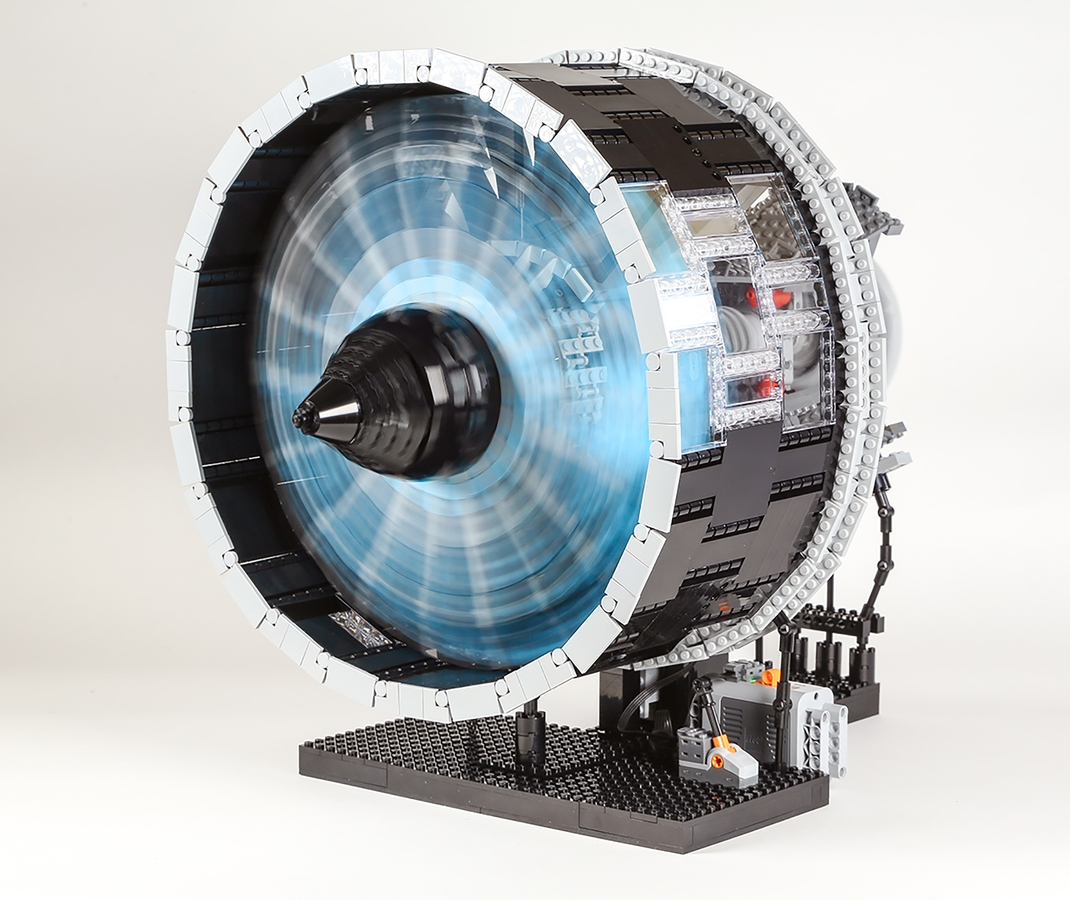 Ultrafan de Rolls-Royce de Lego