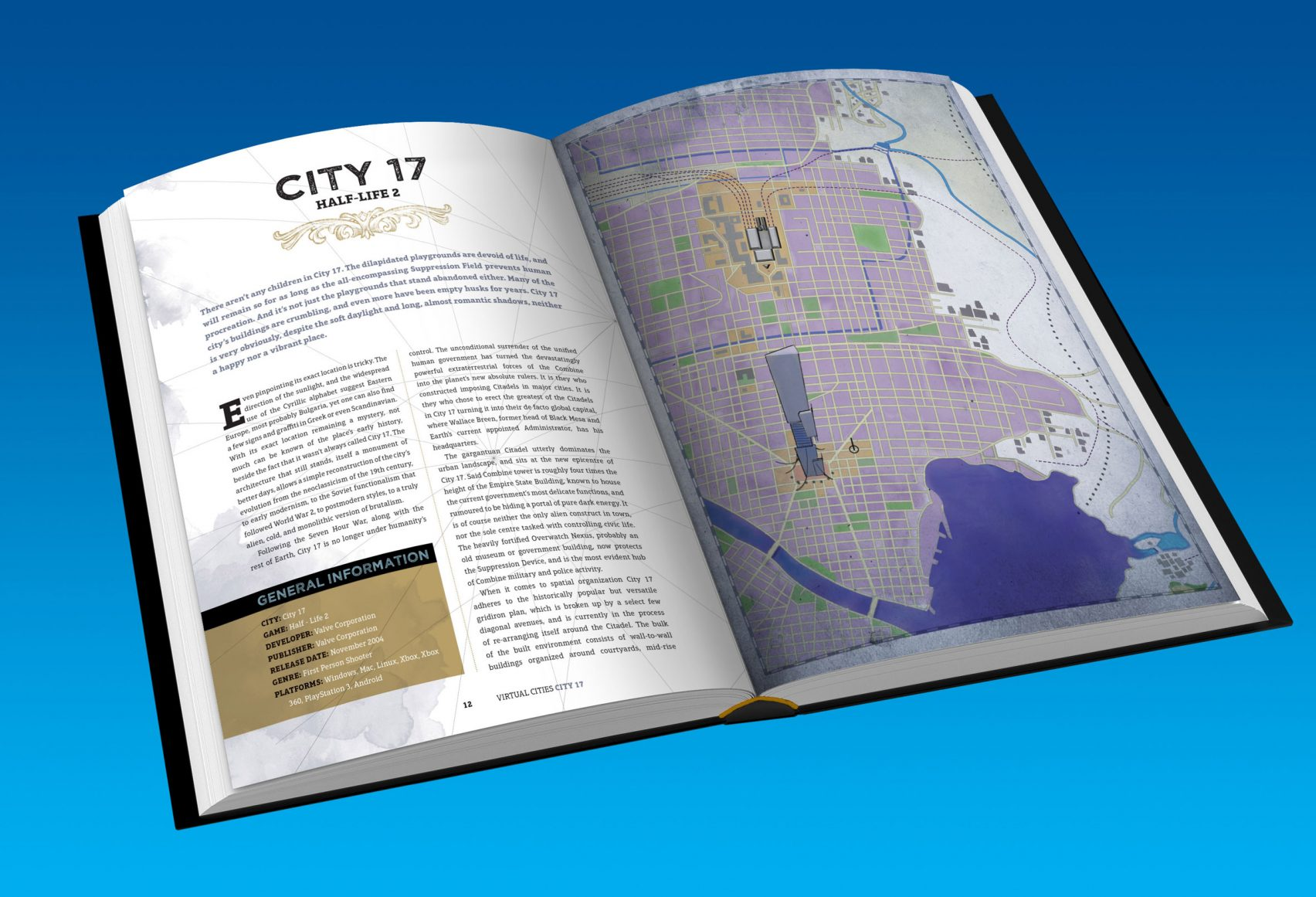 Virtual Cities: an Atlas & Exploration of Video Game Cities