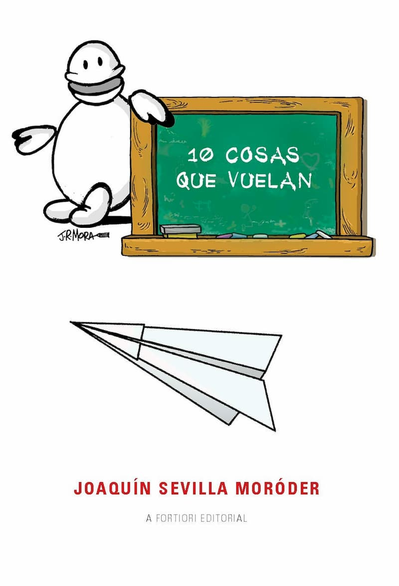 Portada de 10 cosas que vuelan por Joaquín Sevilla