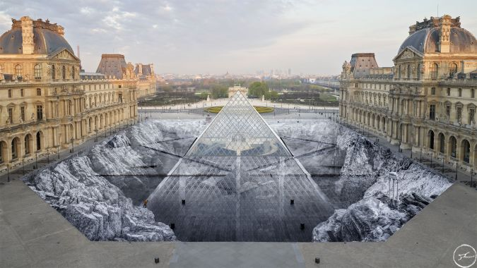 Louvre Pyramid / JR