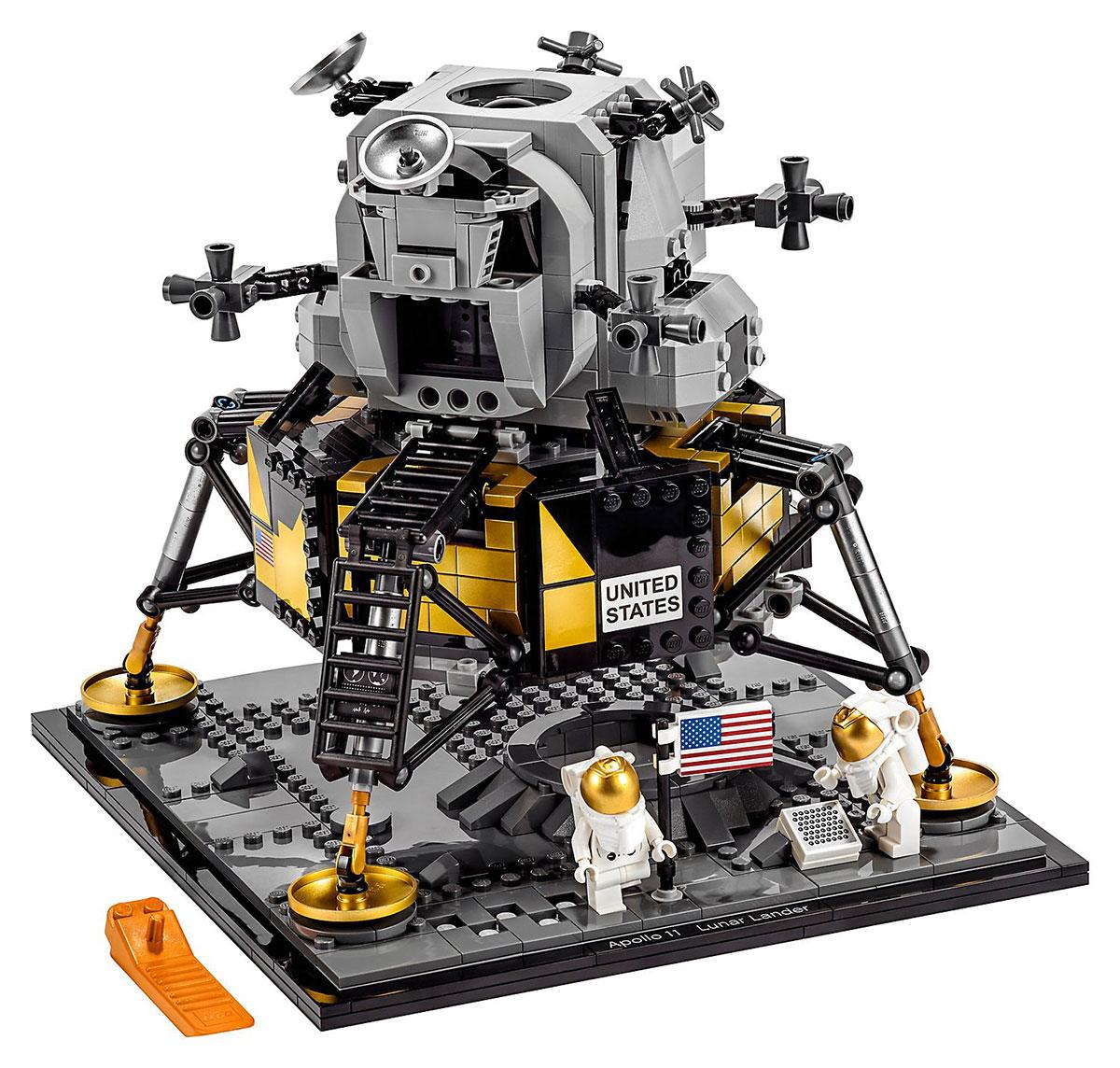 The Eagle has landed, versión Lego
