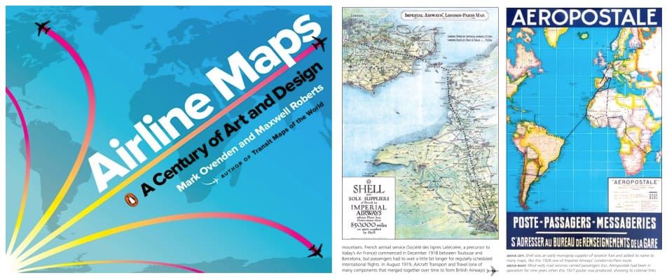 Airline Maps: A Century of Art & Design