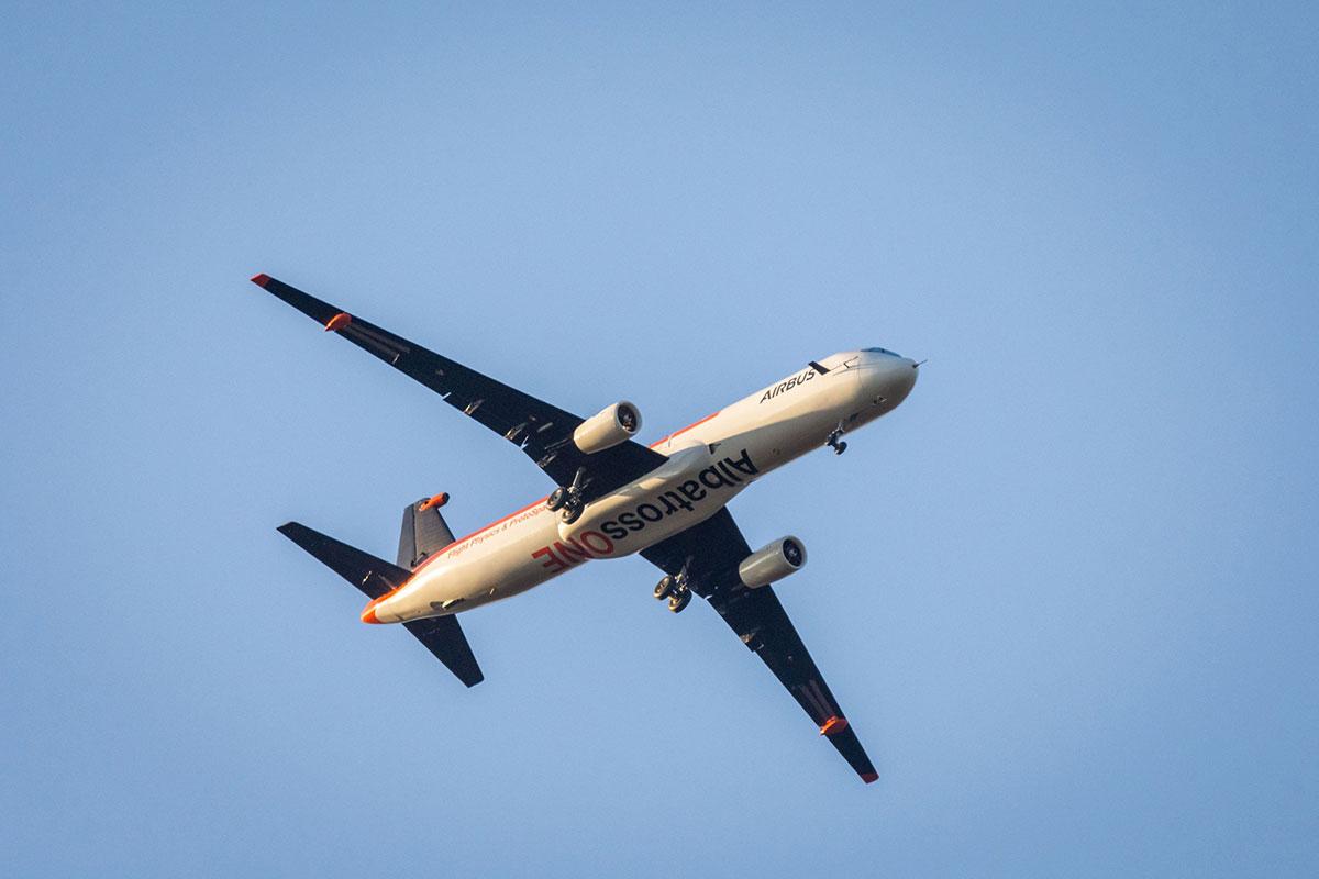 AlbatrossOne en vuelo
