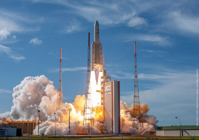 Despegue de la misión VA249
