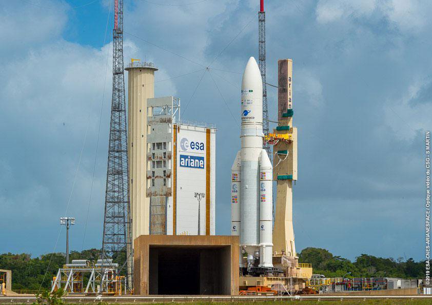 El primer Ariane 5 de 2019