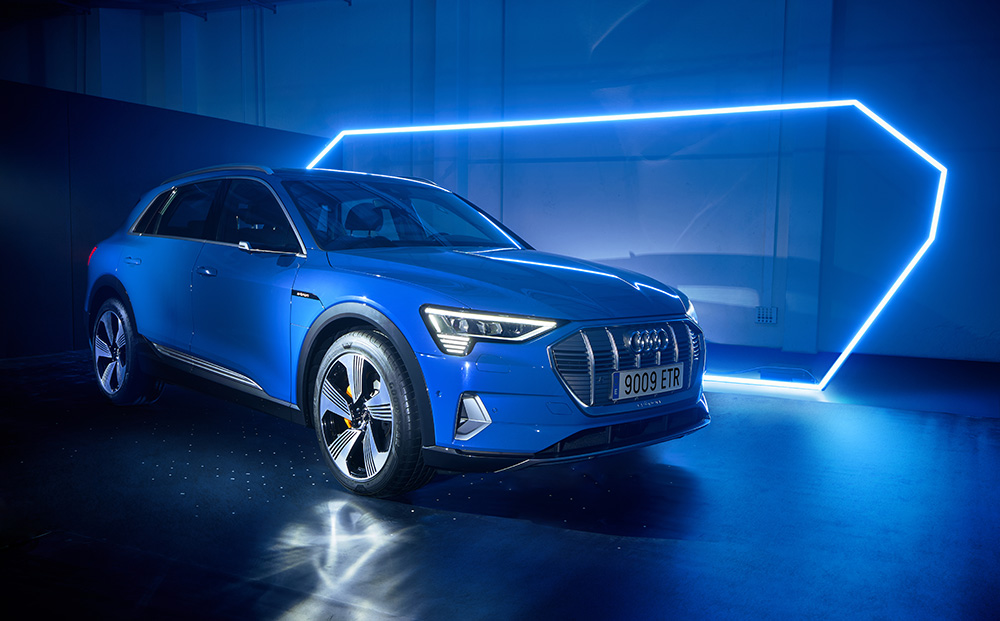The e-tron room: The Future Paradox / Audi