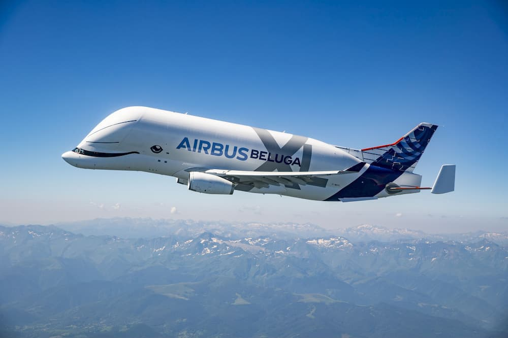 BelugaXL en vuelo
