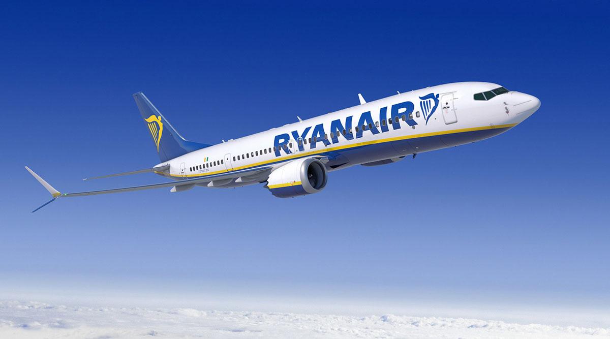 Boeing 737 MAX 200 de Ryanair