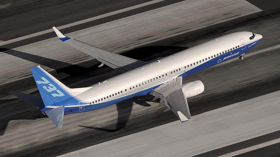 Un Boeing 737 NG