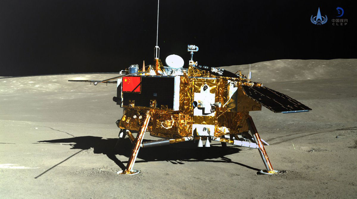 China declara el éxito de la misión Chang'e 4 y publica un primer lote de imágenes