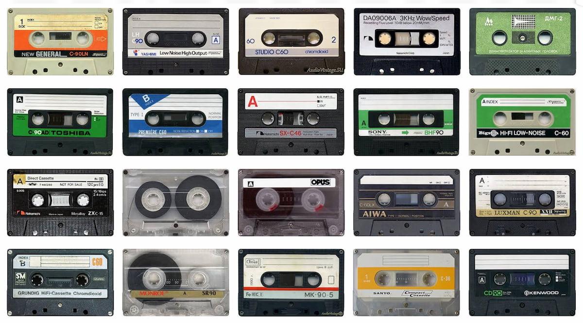 Cintas de casete y aparatos electrónicos de audio de la era soviética / AudioVintage.su