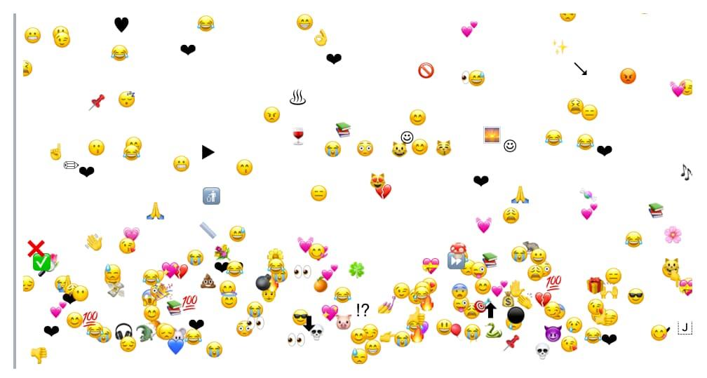 Tormenta de emojis