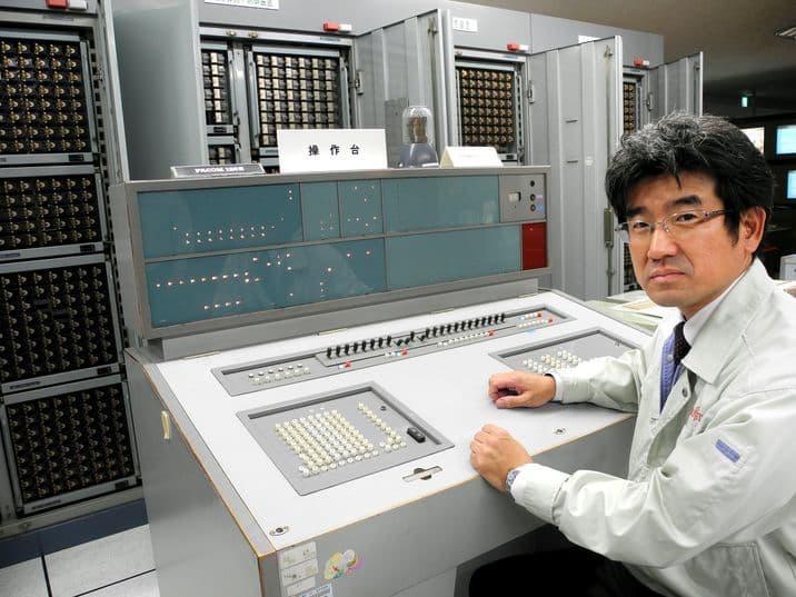 Tadao Hamada y el FACOM 128B