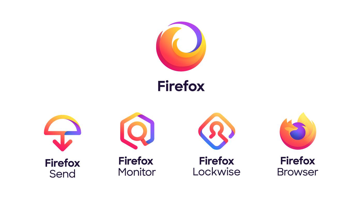 Mozilla rediseña su marca, incluyendo logotipos, isotipos, colores y tipografía