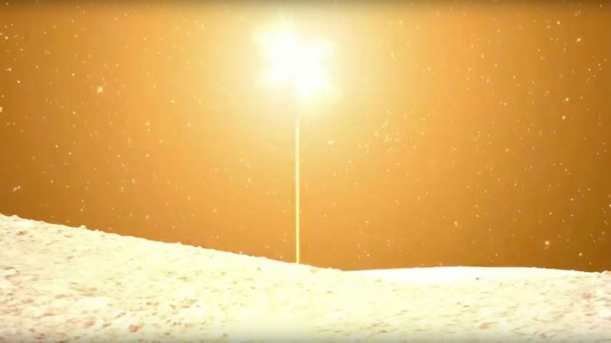 Momento del disparo del instrumento SCI de Hayabusa 2