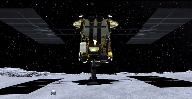 Hayabusa 2 ya tiene fecha para su primera toma de muestras en el asteroide Ryugu