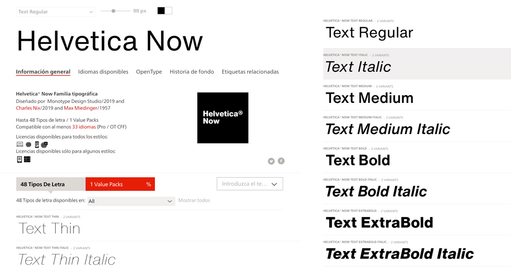 Helvetica Now: la reinvención de un clásico