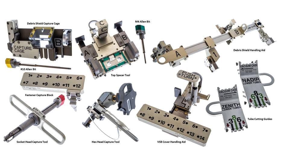 Algunas de las herramientas en cuestión