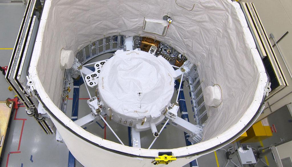 El IDA-3 dentro de la Dragon