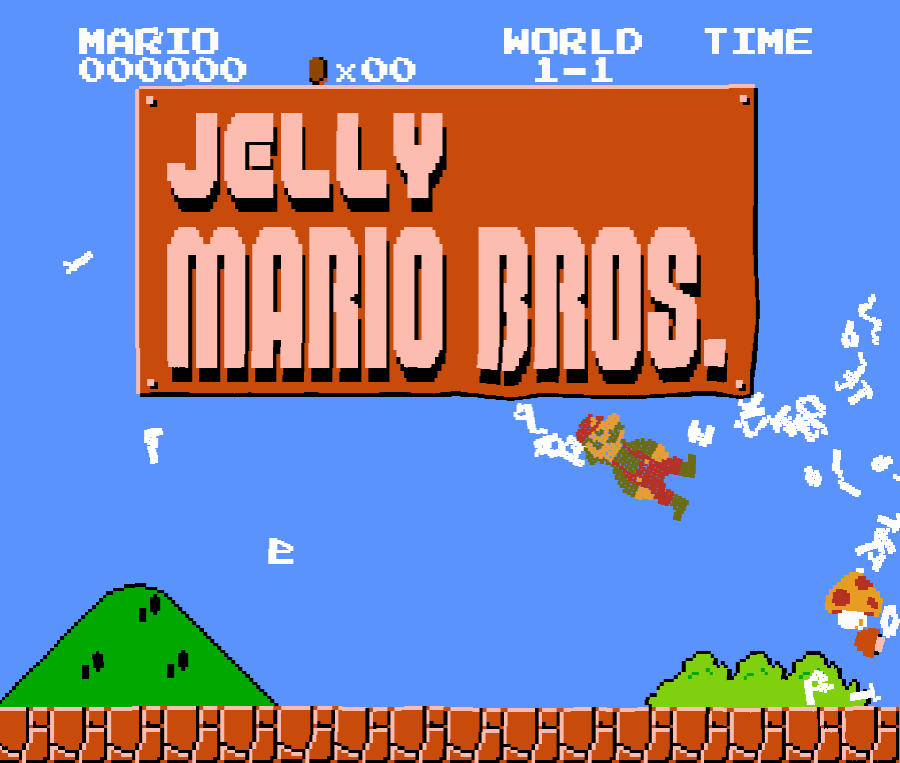 Jelly Mario Bros