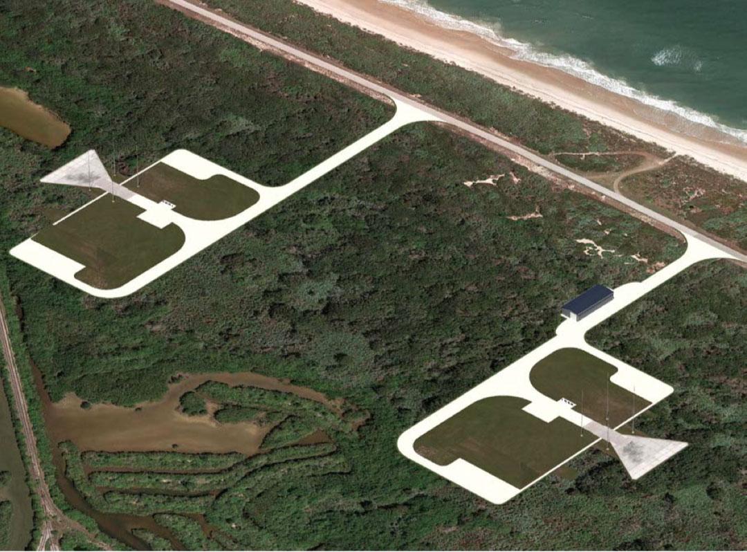 Impresión artística del Complejo de lanzamiento 48 – NASA