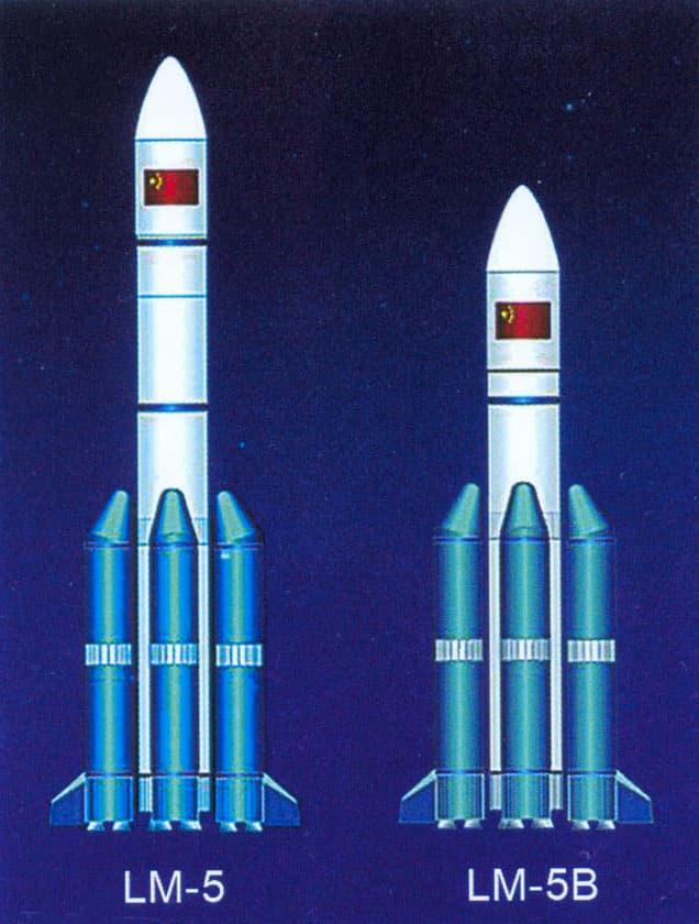 Larga Marcha 5 y 5B - China Academy of Launch Vehicle Technology