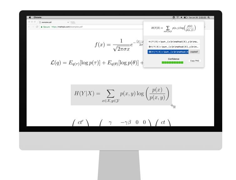 Mathpix, para convertir imágenes de ecuaciones a código LaTeX