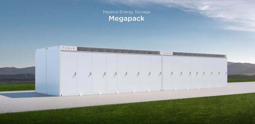 El Megapack de Tesla: una megabatería de 3 MWh para alimentar empresas, ciudades o lo que haga falta