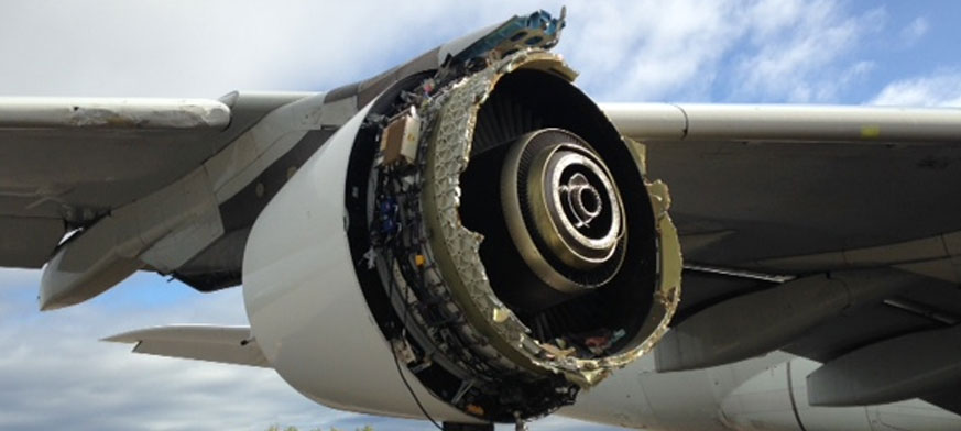 El motor 4 del F-HPJE